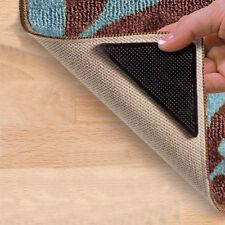 4 pcs Rug Carpet Mat Grippers Non Slip Anti Skid Reusable Silicone Grip Pads AU