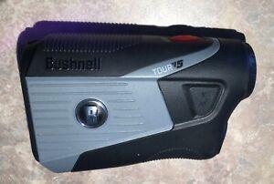 BUSHNELL Tour V5 Laser Golf Rangefinder Bite Magnetic No Case