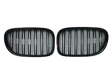 FOR 09-15 BMW F01 F02 750i M4 STYLE PIANO GLOSS BLACK Front Hood Grilles Grille