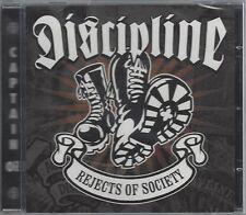 DISCIPLINE - REJECTS OF SOCIETY - (still sealed cd) - AHOY CD 219