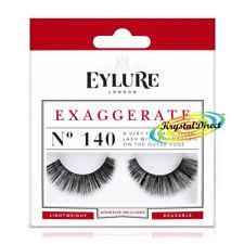Eylure False Black Eyelashes Adhesive Strip Eye Lashes Beauty Makeup Extension