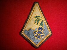 "Vintage FRENCH Army 27th MOUNTAIN INFANTRY BRIGADE ""Alpine"" Cloth Patch"