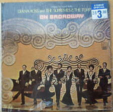 Rare Diana Ross and the Supremes & the Temptations On Broadway - Factory Sealed