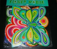 VINTAGE 1960's GROOVY HIPPIE MOBILE BLACKLIGHT COLLECTIBLE AMERICANA JAPAN