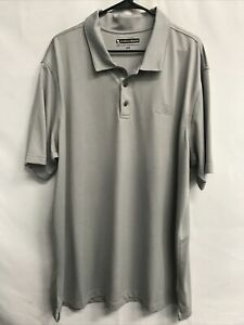 🌴Pebble Beach Men's 3XL Gray SS Short Sleeve Collared Shirt🌴