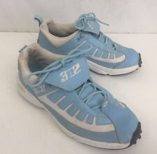 3N2 Lowcut Umpire Plate Cleat Blue And White Shoes- Size 8.5