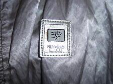 Giacca Piero Guidi linea bold originale argento lucido grigio tg S 42 44 tasche