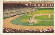 Comiskey Park, Home of the White Sox Chicago IL postcard baseball stadium
