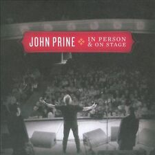 In Person & On Stage [Digipak] by John Prine (CD, May-2010, Oh Boy)