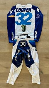 Justin Cooper Autographed Thor #32 Worn Jersey & Pants