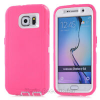 For Samsung Galaxy S6 Case Cover with Belt Clip Fits Otterbox DEFENDER SERIES