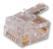 Spina RJ12 6P6C Flat connettori modulare - 7001-6P6C - Confezione da 10