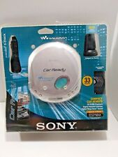 Sony Walkman D-E356CK Discman Car Ready Kit Portable Player CD-R/RW
