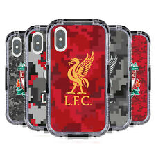 LIVERPOOL FC DIGITAL CAMOUFLAGE BLACK WATER RESISTANT CASE FOR FOR iPHONE PHONES
