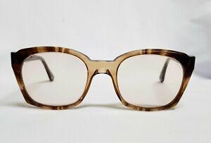 Vtg 60s mens glasses Titmus Z87 Eyeglasses thick Square frames TOZ87 frame