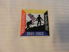 2001-2002 Trails End Popcorn Sale BSA Pocket Patch Do The Stuff Scouts Do!