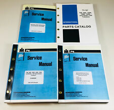 INTERNATIONAL 766 966 1066 1466 TRACTOR SERVICE PARTS MANUAL ENGINE OVHL GD