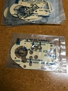 GENUINE NOS WEBER 28 ICP GASKET MINOR TUNE-UP KIT FIAT 600 750 SEAT