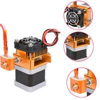Für MakerBot Prusa i3 Printer MK8 Extruder Kopf Hotend 0.4mm Düse Assembly Kit