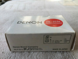 Denon DL-103R Moving Coil Cartridge. New boxed. Free UK postage.