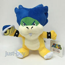 New Super Mario Bros 2 Koopaling Plush Ludwig Von Koopa Soft Toy Teddy Doll 8.5""
