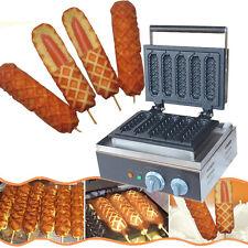110V  Electric corn dog waffle maker_lolly hot dog waffle maker machine