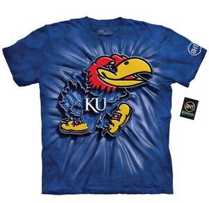 Kansas University Jayhawks T-Shirt by The Mountain-----Brand New-----
