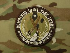 Multicam CJTF Operation Inherent Resolve Combined Joint Task Force Patch USSOCOM