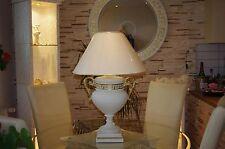 Tischlampe Schreibtischlampe Steinlampe Vasenlampe Mäandermuster Versa Serie