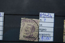 FRANCOBOLLI ITALIA COLONIE SCARPANTO USATI N°7 (A9434)