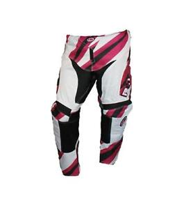 PULSE MOTOCROSS MX BMX MTB PANTS - DIMENSION PURPLE + FREE SOCKS WORTH £9.99