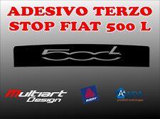 ADESIVO STICKERS PER TERZO STOP FIAT  500 L