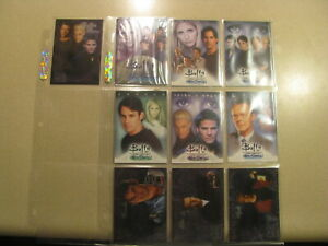 Buffy The Vampire Slayer Men of Sunnydale BL1-3,CL1,Promos (5) Wrapper