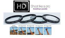 Close-Up Set 4-Pcs Macro Lens +1 +2 +4 +10 for Nikon D5500