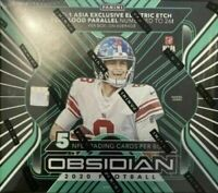 2020 PANINI OBSIDIAN FOOTBALL TMALL HOBBY FACTORY SEALED BOX ASIA CHINA