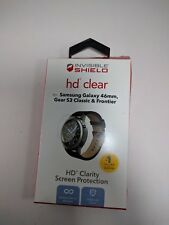 Invisible Shield HD Clear Screen Protector Samsung Gear S3 Classic Frontier 46mm