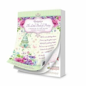 Hunkydory The Little Book Poetry Card Toppers x 24 Verses for Occasions
