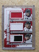 11-12 ITG Heroes & Prospects Subway Trios SEAN COUTURIER/GORMLEY/NATHAN BEAULIEU