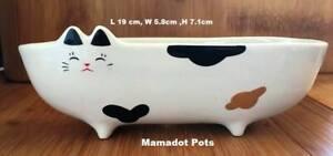 Cat Ceramic Planter Pot