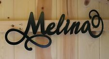 Personalized Name Wall Sign Plaque Plate For Child Kids Bedroom or Door Metal