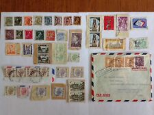 Lot of 45 Belgium stamps~1893-1974~Kings Leopold & Albert & Baudouin~1 cover