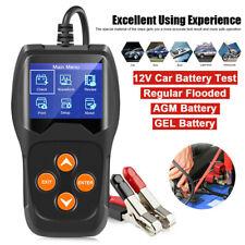 12V Car Battery Tester KONNWEI KW600 Digital Auto Battery Analyzer Black