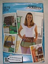 Sewing Room machine covers Pincushion etc Sewing Pattern 2679 S See Full Listing