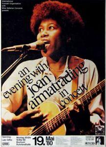 ARMATRADING, JOAN - 1980 - Konzertplakat - Concert - Tourposter - Bochum