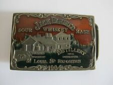 Rarität Edel Gürtelschnalle aus Messing Jack Daniel's Sour Whiskey Mash