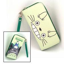 Anime My Neighbor Totoro Polyurethan Geldbörse brieftasche PU Purse Wallet B