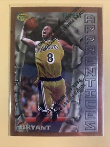 1996-97 Topps Finest Kobe Bryant W/coating! Rc! Beautiful Card! Invest Now !