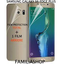 Film protection intégral total samsung galaxy S6 edge  plus + 1 film arrière