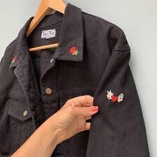 Paris Blues black cropped jean jacket