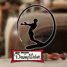Dewey Weber since 1960 Aufkleber Sticker Autocollante Hawaii Surf Surfing